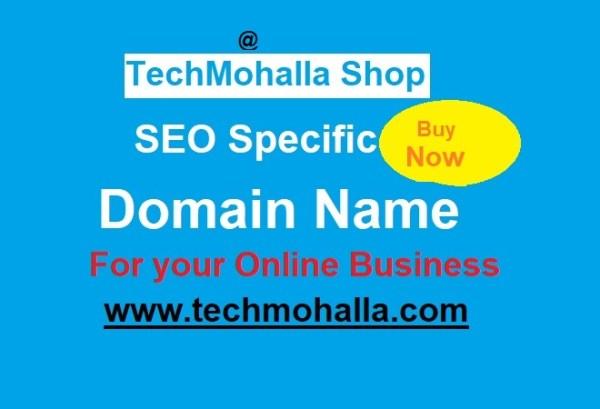 SEO Specific Domain Name