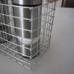 DIY Hardware Cloth Salt & Pepper Shaker Caddy | Techmomogy @ Home