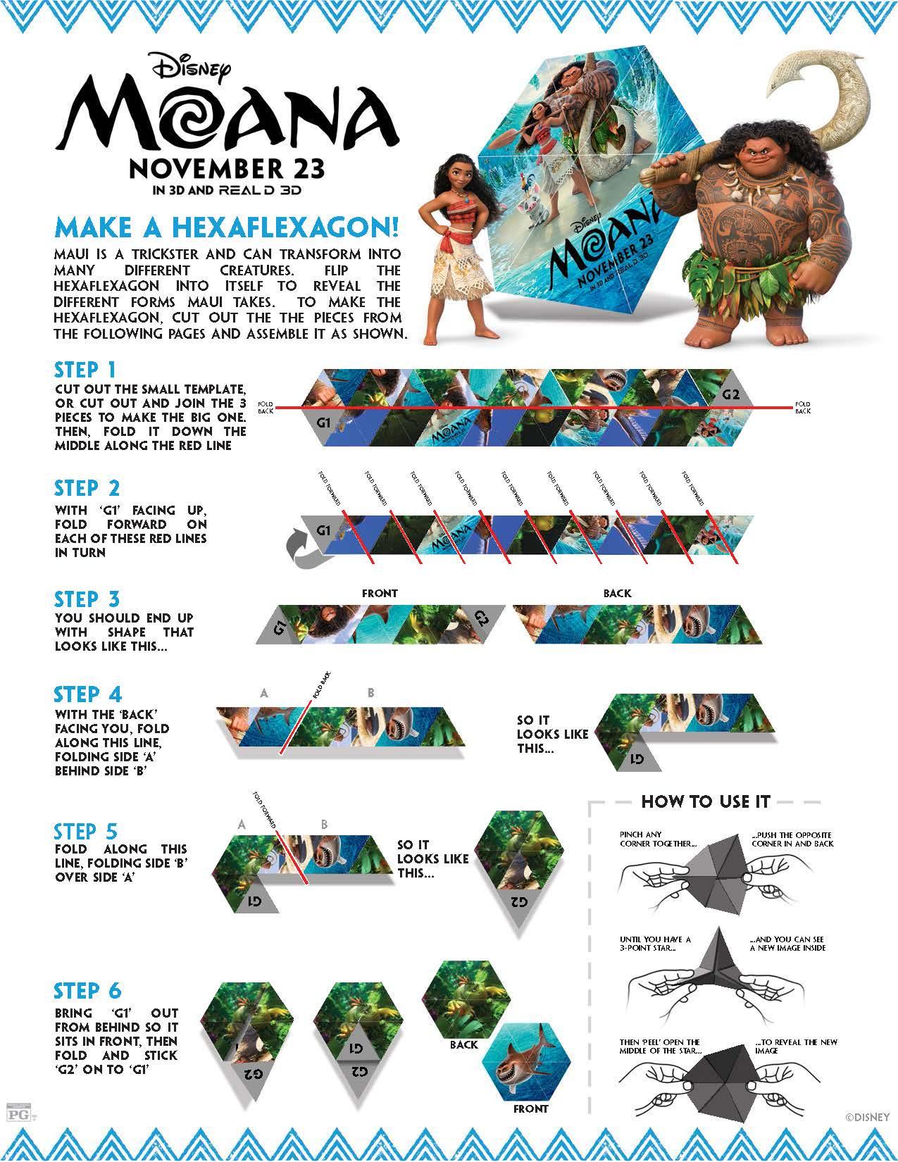 Disney S Moana Printables Techmomogy