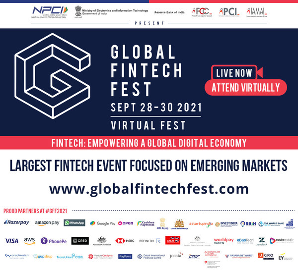 Finance Minister of India Releases UN Report at Global FinTech Fest on 28th September