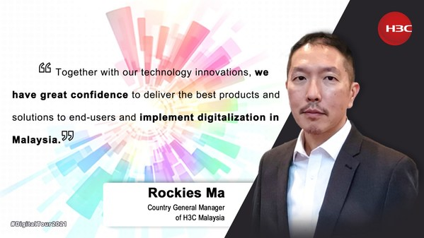 Rockies Ma, General Manager of H3C Malaysia