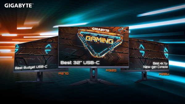 GIGABYTE Complete Gaming Monitor Lineup Received High Praise for Stellar Performance