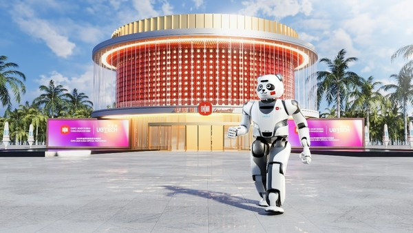 The UBTECH Panda Robot will serve as an Ambassador for Peace and Friendship for the China Pavilion at Expo 2020 Dubai