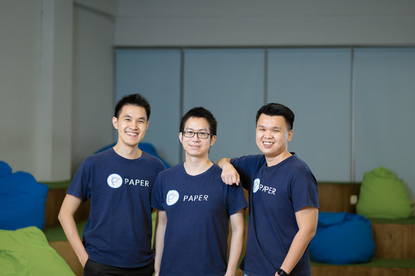 From left to right: Jeremy Limman (CEO & Co-Founder), Yosia Sugialam (CTO & Co-Founder) and Anthony Huang (COO)