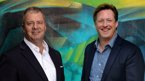 David Link, Verrency Founder and Executive Chairman, with Verrency's newly promoted CEO, Jeroen van Son.