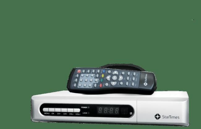 StartTimes new DVB-T2 Free to Air Set Top Box in Kenya