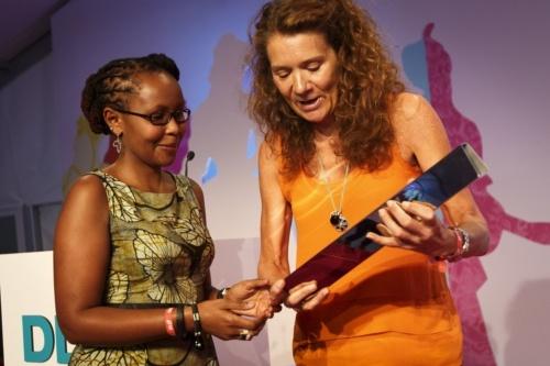 DLDwomen13: Kenyan Juliana Rotich Receives Impact Award for Humanitarian Internet Project