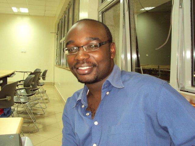Samson Mutisya, one of the founders