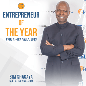 Sim Shagaya,CEO of Konga.com Wins Entrepreneur Of The Year At AABLA N 2013