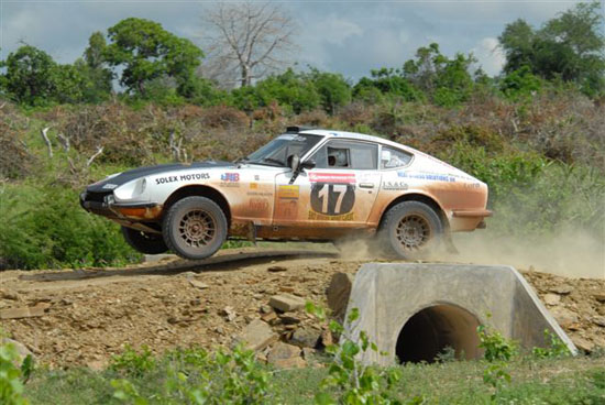 Kärcher To Clean Classic East African Safari Rally Cars With