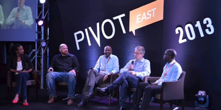 One of the panel of investors discussing East Africa's mobile ecosystem at Pivot East 2013