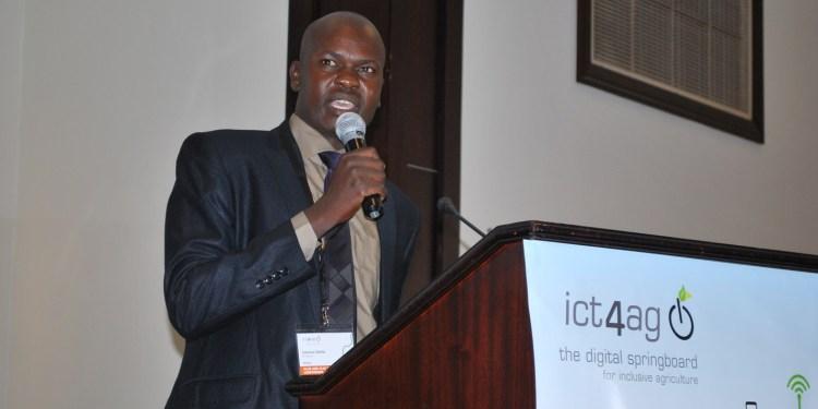 Calvince Okello - Founder, M-Shamba
