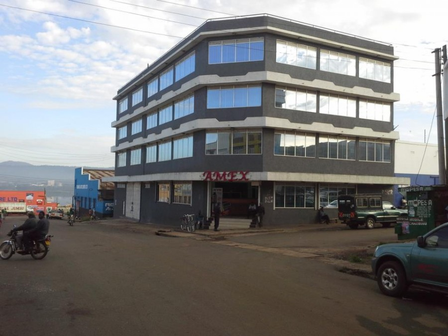 Amex's Physical warehouse in Kisumu