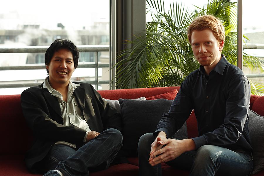 Co-Founders Louis Iskandar and Christian Schiller