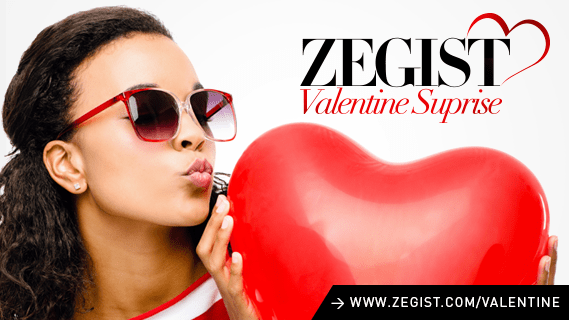 Zegist Wants to Give You A Special Gift This Valentine