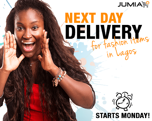 Jumia Nextday delivery