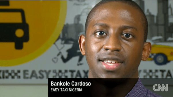 Bankole Cardoso, Easy Taxi, Nigeria