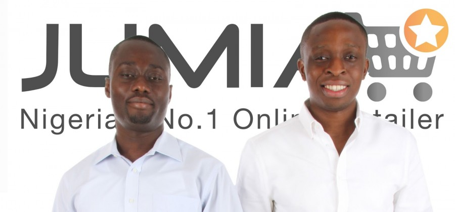 Raphael and Tunde during Jumia days.