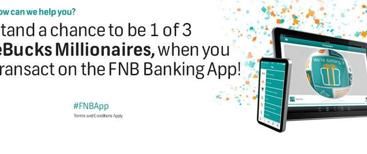 FNB Banking App Turns Three   Wants to Make You a Millionaire