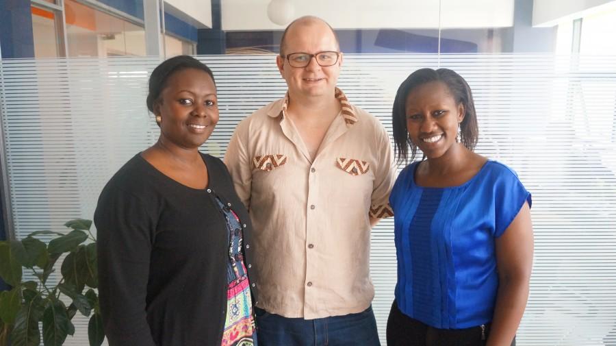 Patricia Jumi - MD GrowthAfrica, Michael Perdesen CEO Uhasibu and Angela Nzioki Sales and Marketing Manager Uhasibu