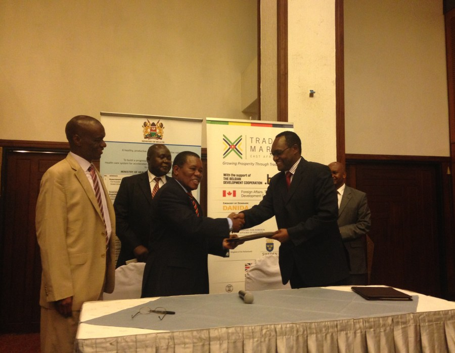 Minsitry of Health TMEA MOU Signing