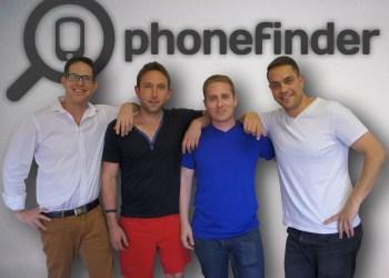 The four co-founders (left to right) — Tom Goldgamer, Danny Aaron, Lance Krom, Devin Karpes.