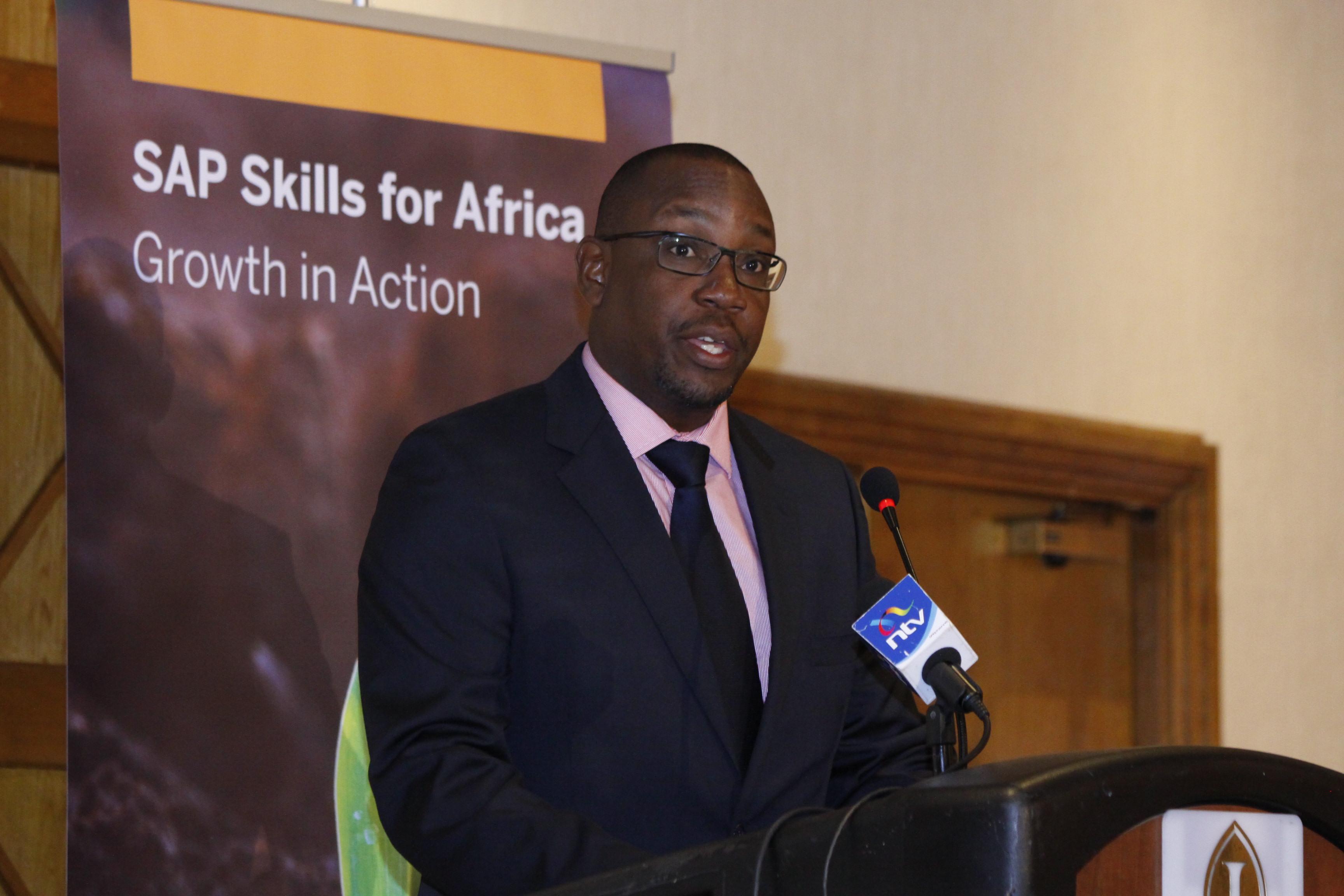 SAP MD, East Africa, Andrew Waititu