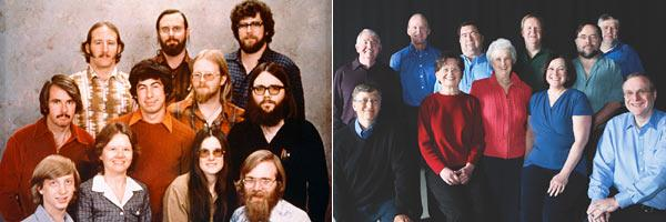 Bill gates and Team success 30 years later