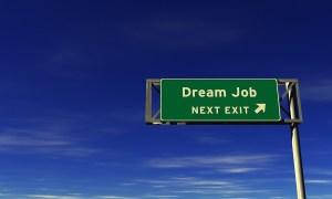 Dream Job - Freeway Exit Sign