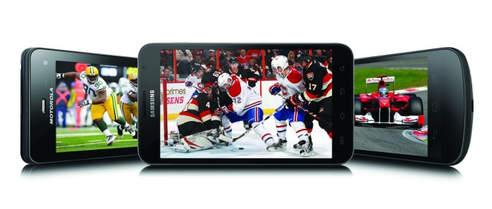 BELL CANADA - Mobile TV sports lineup: Super Bowl & NHL All-Star