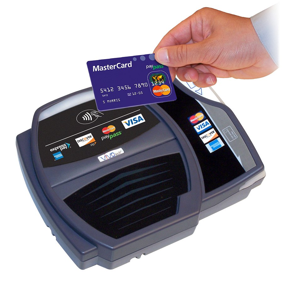 NFC-enabled POS terminals