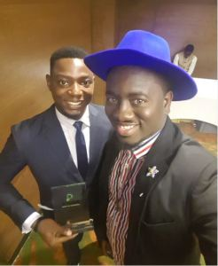 Laolu of One medical, winners of N5m in the Etisalat Prize for Innovation