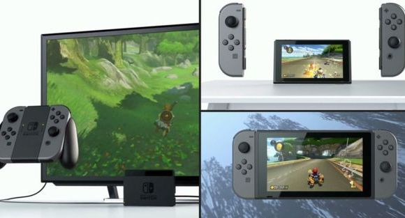 Nintendo Switch, a hybrid handheld & in-house gaming console