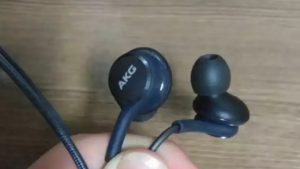 AKG premium earphone will be offered in the box
