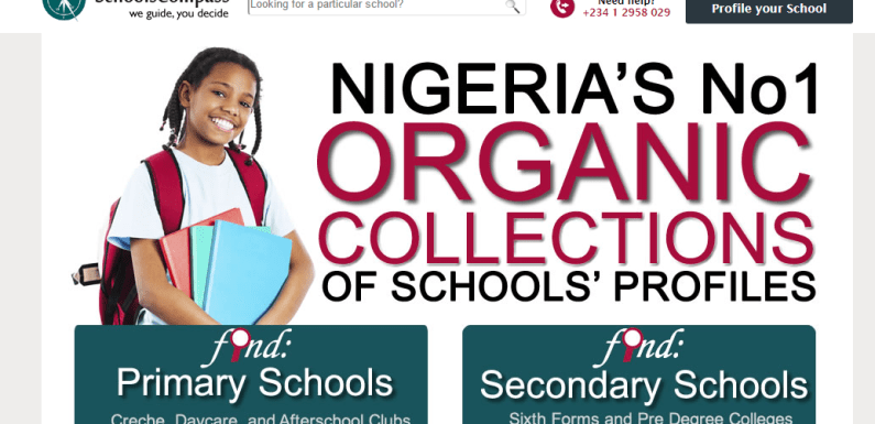 This Startup is Helping Nigerian Parents Choose the Best Schools for Their Wards