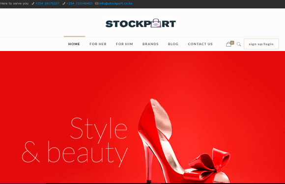 Meet Stockport an online garments and shoes shop for Kenyan students