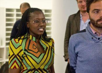 Lillian Odhiambo at the competition