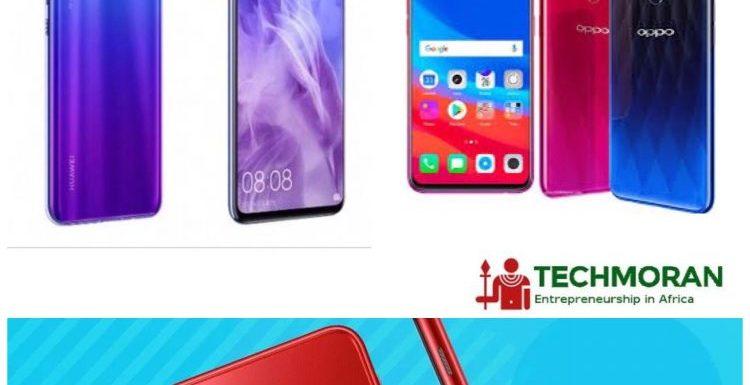 Huawei Y9 2019 vs OPPO F9 Pro vs Samsung Galaxy J6+ Comparison