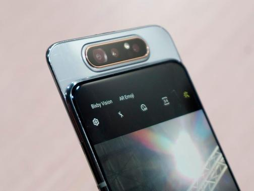 Galaxy A80, Samsung's first rotating camera smartphone is