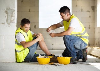 What should you do if you are a victim of a construction accident?
