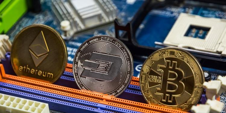Bitcoin, Ethereum and Dash Coin are all types of cryptocurrency