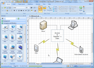 Visio Network Diagram Templates with Examples