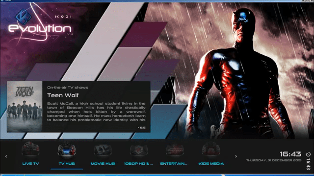 Evolution Custom Kodi Build