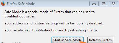Firefox xpcom error