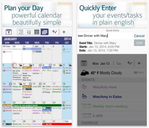 10 Best Calendar Apps for iPhone in 2019 - TechMused