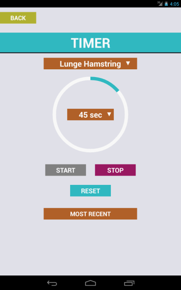 stretching apps for Android and iOS