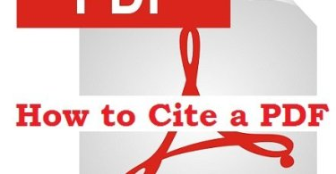 How to cite a PDF
