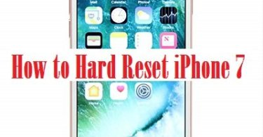 how to hard reset iphone 7