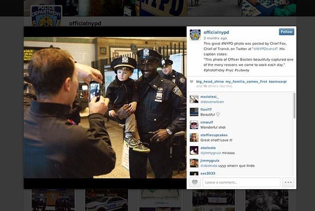 Instagram works with NJPD