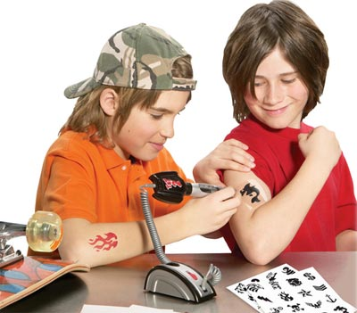 The Junior Tattoo Parlor…